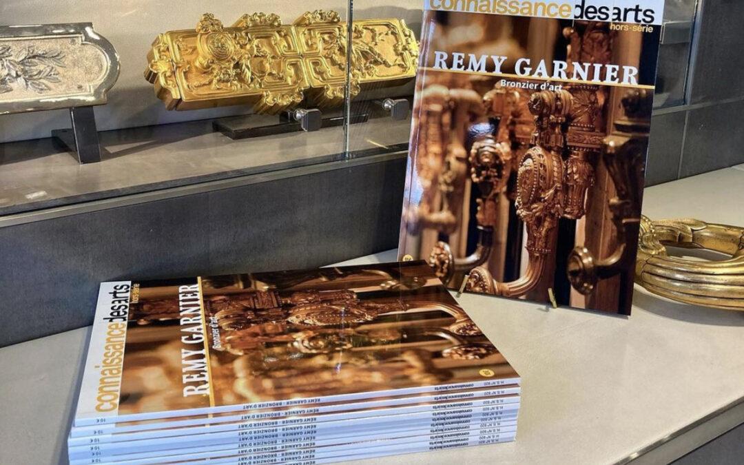 Presse – Parution du « Connaissances des Arts » spécial Rémy Garnier